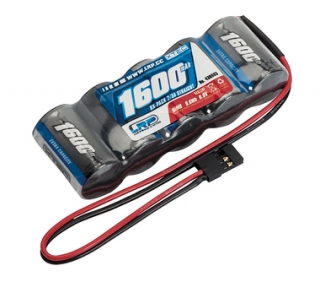 XTEC RX-pack Straight 2/3A NiMH - JR - 6.0V - 1600mAh