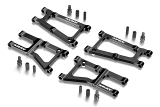 Alu Front & Rear Suspension Arms 1-Hole - Swiss 7075 T6