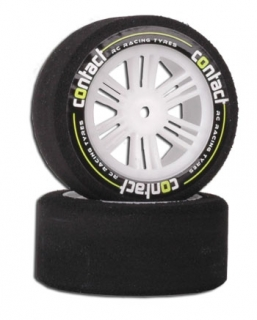 Contact RC foam Tyres - 1/10 Front 26mm 37Sh
