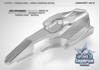 X1 1/10 Formula Body - World Champion Edition