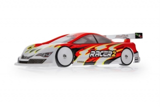 Mon-Tech Racer 2.0 Touring Electric Car Clear Body 190mm