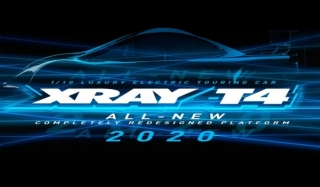 XRAY T4 2020 Graphite Edition  1/10 LUXURY ELECTRIC TC 4WD