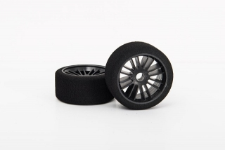 X-GRIP Foam Front Tires for Pan Car 1/10 - shore 35