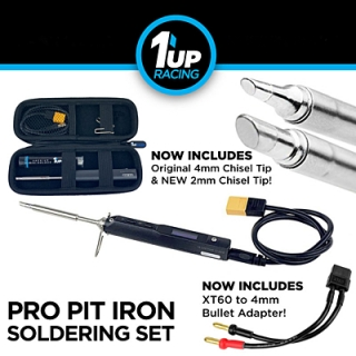 1up Racing Pro Pit Iron Soldering Set