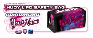 HUDY LIPO SAFETY BAG - CUSTOM NAME