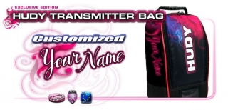 HUDY TRANSMITTER BAG - COMPACT - EXCLUSIVE EDITION - CUSTOM NAME